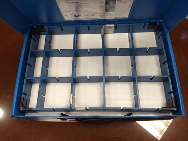 Flexcon News: Dividers now come in 3 styles, nest tote breakthrough!