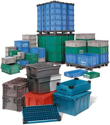 How to Select the Perfect Reusable Plastic Containers, Totes or Bins for Your Material Handling Needs