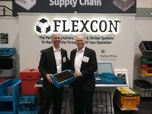 Flexcon unveils new divider systems, AS/RS totes