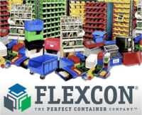 Flexcon Displays New AS/RS Tote Boxes, Plastic Pallets, Divider Systems