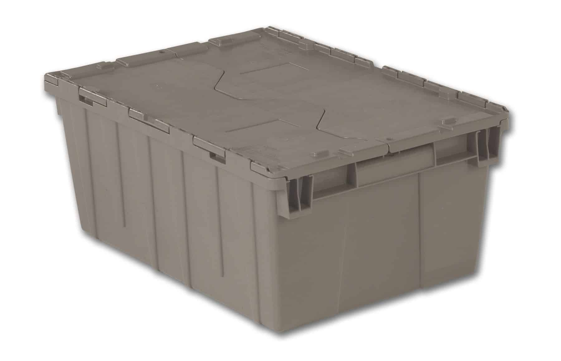 """21x15x9"""" Stack/Nest Attached Lid Container"""
