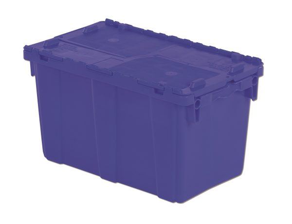 "22x13x13"" Stack/Nest Attached Lid Container"