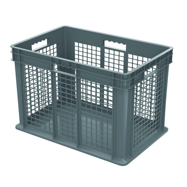 Vented-Wall-Stackable-Container-gray