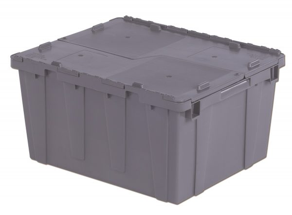 "24x20x12"" Stack/Nest Attached Lid Container"