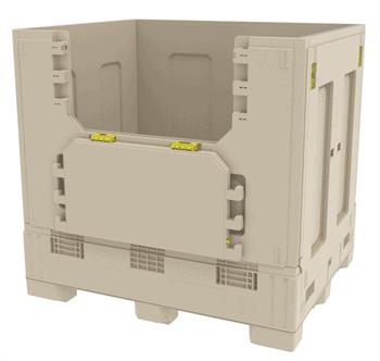 Reinforced-Bulk-Box-Top-Discharge-Drop-Door