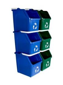 14 x 10.625 Multi Recycler 20pk dual colors