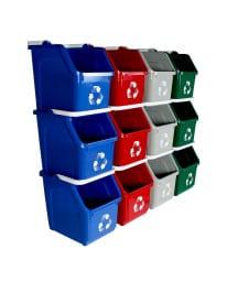 14 x 10.625 Multiu Recycler 12pk 4 colors