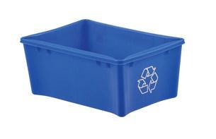 17.6 x 12 Recycling bin
