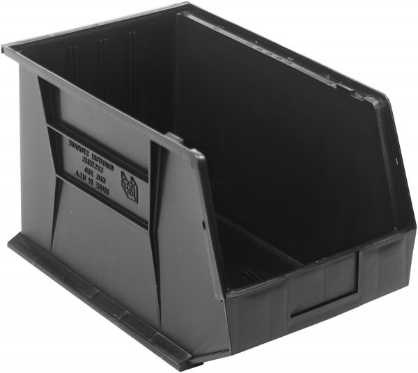 -ESD_Conductive-Stackable-and-Hangable-Hopper-Front-Bin-BK