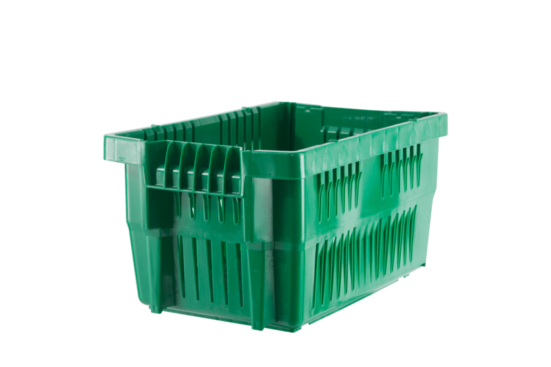 """20 x 14 x 11"""" Ventilated Stack-&-Nest Container"""