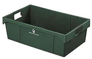 "21 x 13 x 7"" Stack-Nest Produce Container"