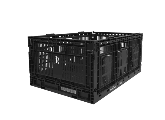 23.6 x 15.8 x 10.2 Multi-purpose Open Side Collapsible Containers