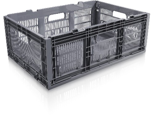 23.6 x 15.8 x 10.6 Multi-purpose Open Side Collapsible Containers