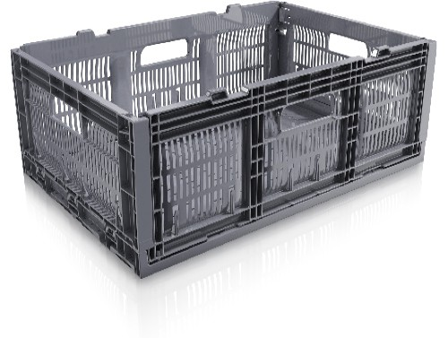 23.6 x 15.8 x 8 Multi-purpose Open Side Collapsible Containers