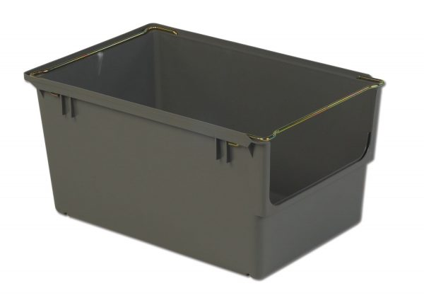 "24 x 15 x 12"" Hopper Stack-&-Nest Tote"