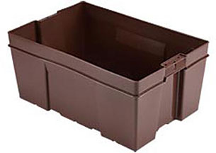 "24 x 16 x 11"" HD Poultry-Meat-Seafood Container"