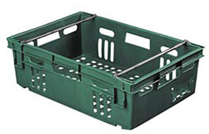 "24 x 16 x 6"" Stack-Nest Produce Container"