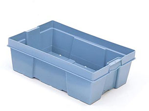 """24 x 16 x 8"""" HD Poultry-Meat-Seafood Container"""