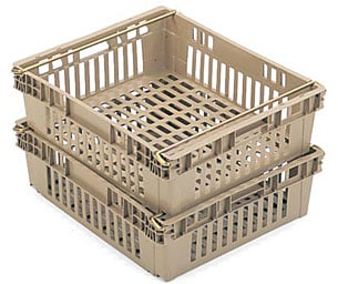 "24 x 20 x 7"" Stack-Nest Produce Container"