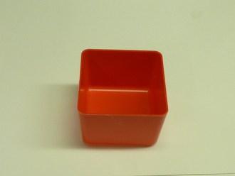 "4  x 4  x 3""   Molded Bin Cup"