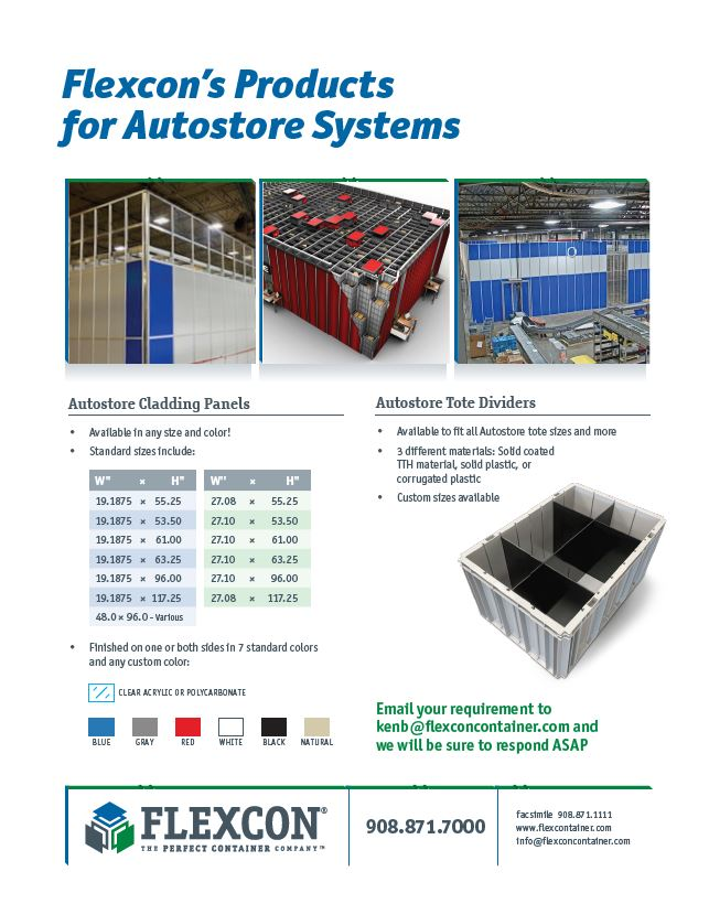 Autostore Products and Accessories