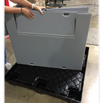 Pallet Sleeve Systems for Handling Closed Loop Material