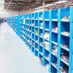 Large and Stackable Warehouse Bins by Flexcon