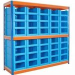 Corrugated Plastic Containers for Warehouse