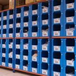 Stackable Plastic Containers - Perfect for Warehouse