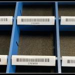 Label Holder for VLM Dividers