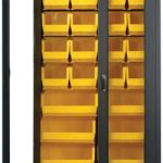 Long Specialty Bin Cabinets for Security Purpose