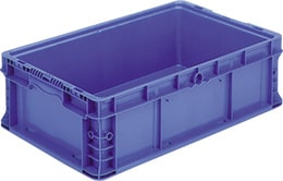 Straight Wall Stackable Containers