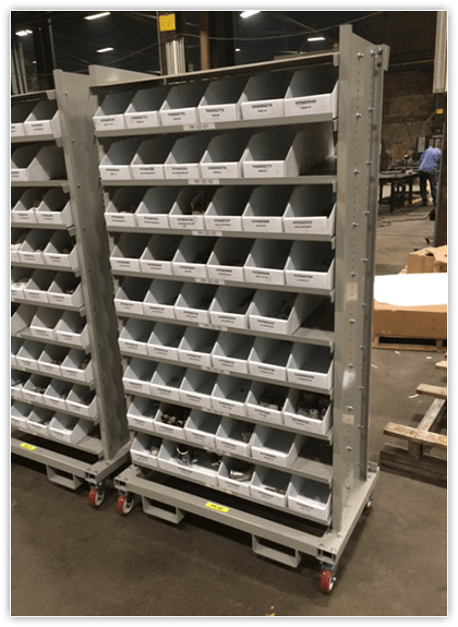 Custom Corrugated Plastic Bins
