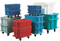 Molded Fiberglass Containers