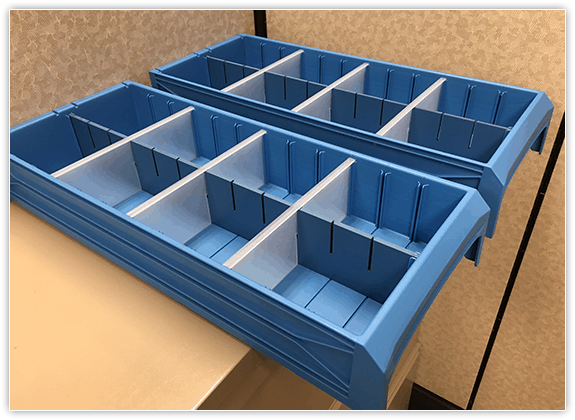 molded-plastic-totes-bins-with-dividers
