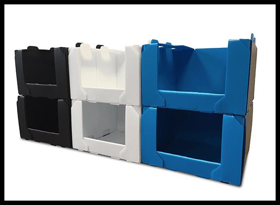 NEW!! Stackable warehouse bin