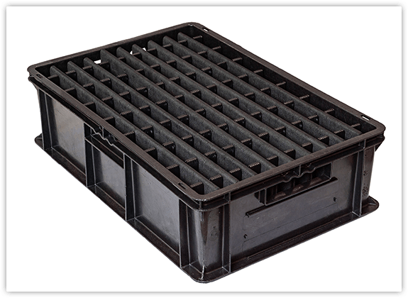ESD_containers_with_dunnage
