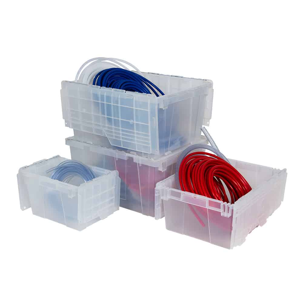 Clear Totes & Containers