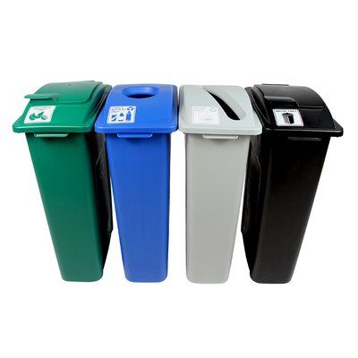Recycling & Sanitation Containers