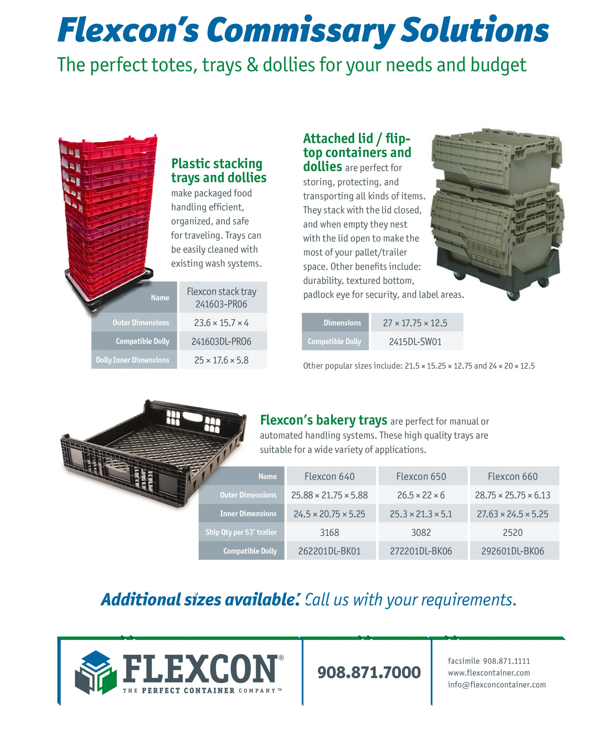 Flexcon Commisary Solutions